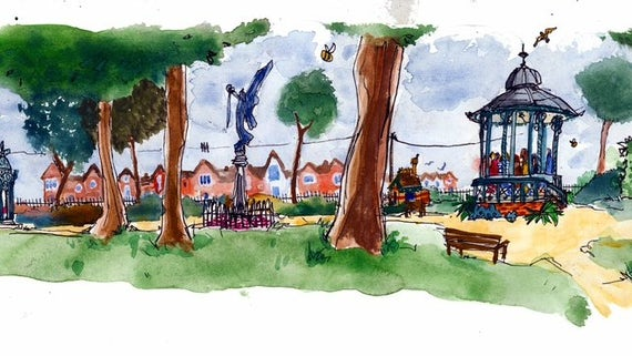 Grange Pavilion story