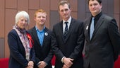 Jenny Rathbone, Patrick Osborne, David TC Davies and Alex Moscovici