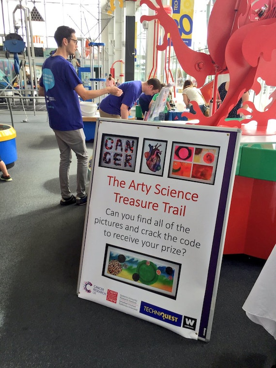 Arty Science at Techniquest