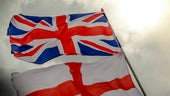 St George and Union Flags