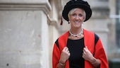 Laura Tenison in Robes