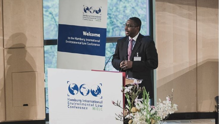 Dr Edwin Egede, Senior Lecturer in International Law and International Relations