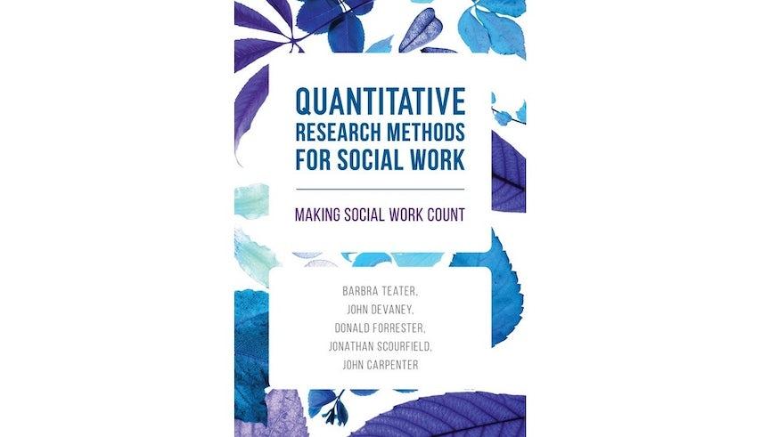 Quantitative research book cover
