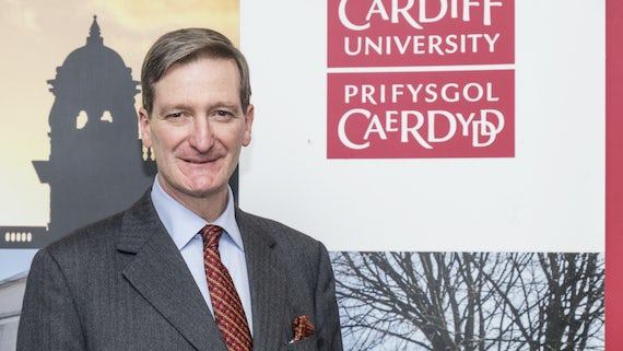 The Rt. Hon. Dominic Grieve QC MP at the School of Law and Politics.