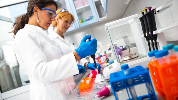 Women in lab