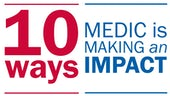 10 ways Medic is making an impact