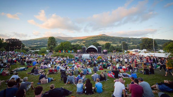 The Mountain Stage at Green Man Festival