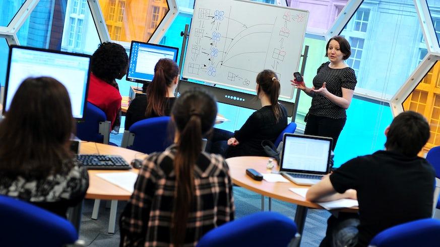 Teaching in Sir Martin Evans Building