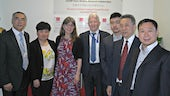 Delegation at Cardiff China Medical Research Collaborative