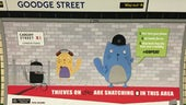 Copcat London Underground Advert