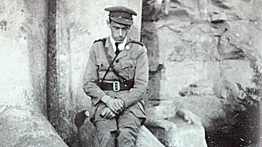 Soldier at Karnak