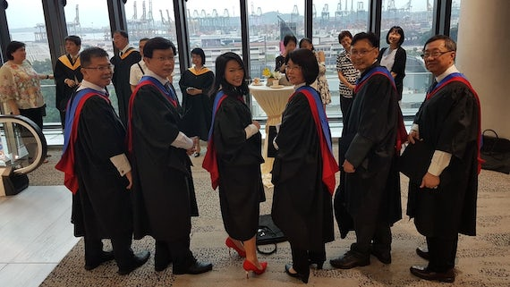 MSc Skills and Workforce Development Graduates 2017