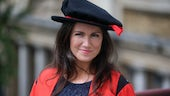 Cardiff University Honorary Fellow Susanna Reid