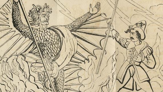Llun clawr Bywyd hynod Dr. John Faustus, ser-ddewin a swynwr,