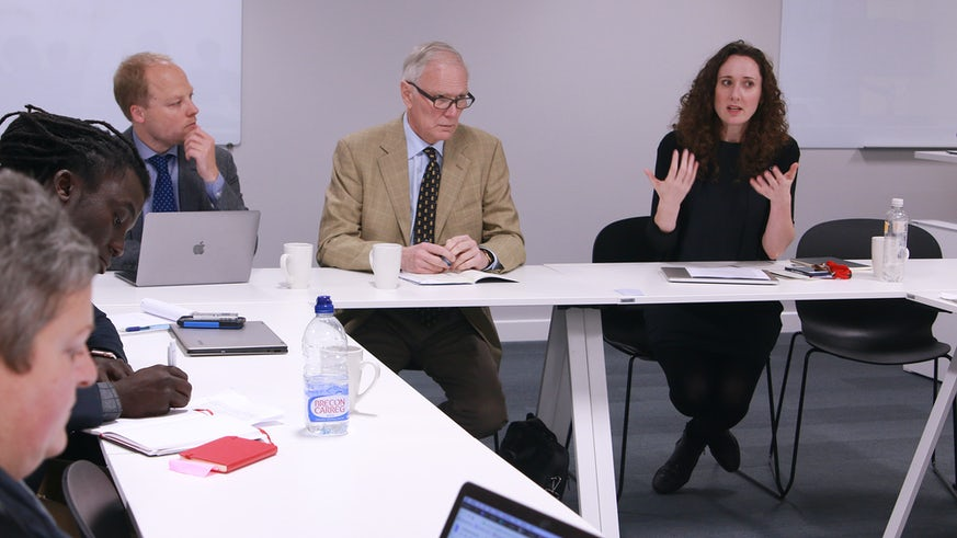 Professor Philip Alston and Dr Lina Dencik