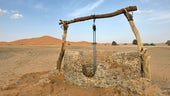 Groundwater well in Africa