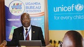 Dr Chris Mukiza, Executive Director of the Uganda Bureau of Statistics, introduces the report