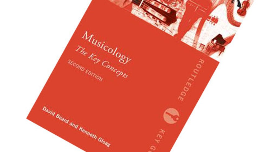 Musicology book cover