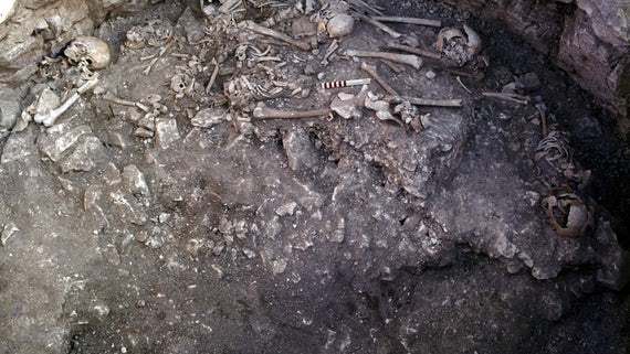 Iron Age burial renewals