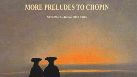 Cover of More Preludes to Chopin, album by Professor Kenneth Hamilton