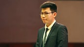 PhD student Jerry Zhuo