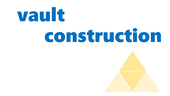 picture of vault construction logo