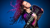 Marty Friedman with guitar