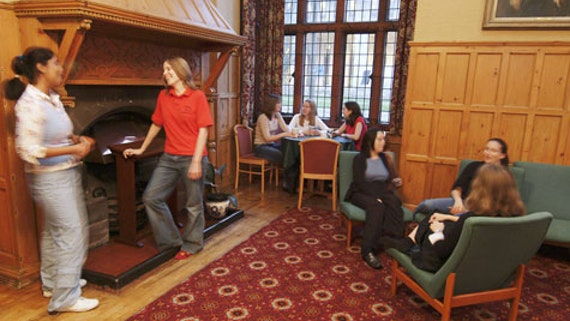 Communal Area at Aberdare Hall 3