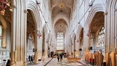 Bath Abbey inside