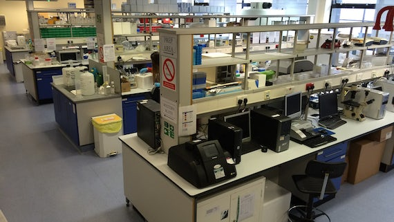 Cardiff China Medical Research Collaborative main lab