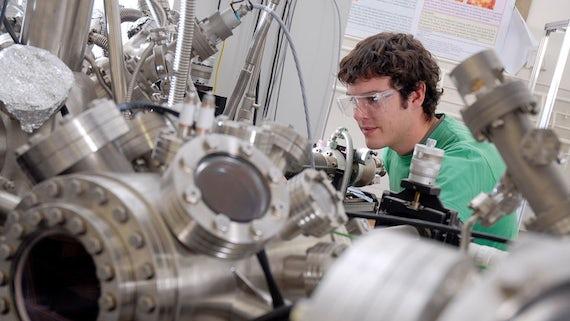 Chemistry spectrometer microscope