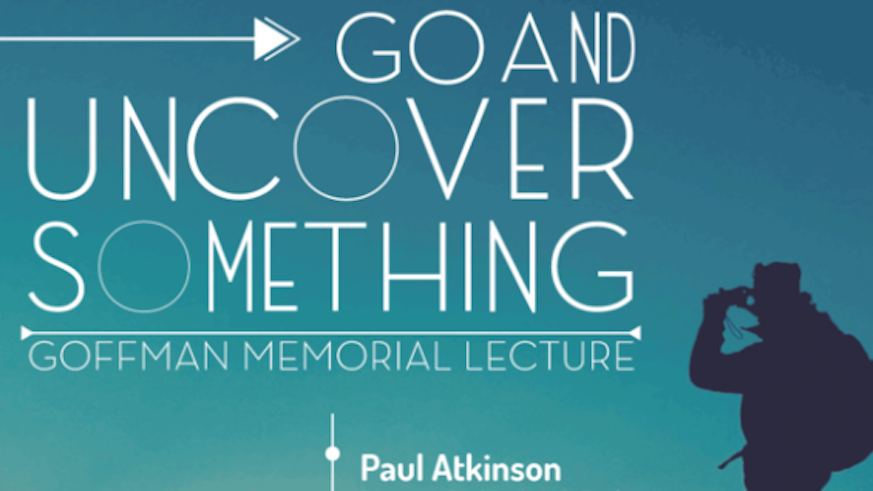 Event poster for the Memorial Lecture