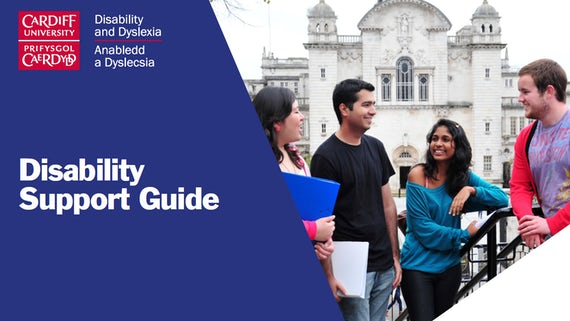 Cardiff University disability support guide