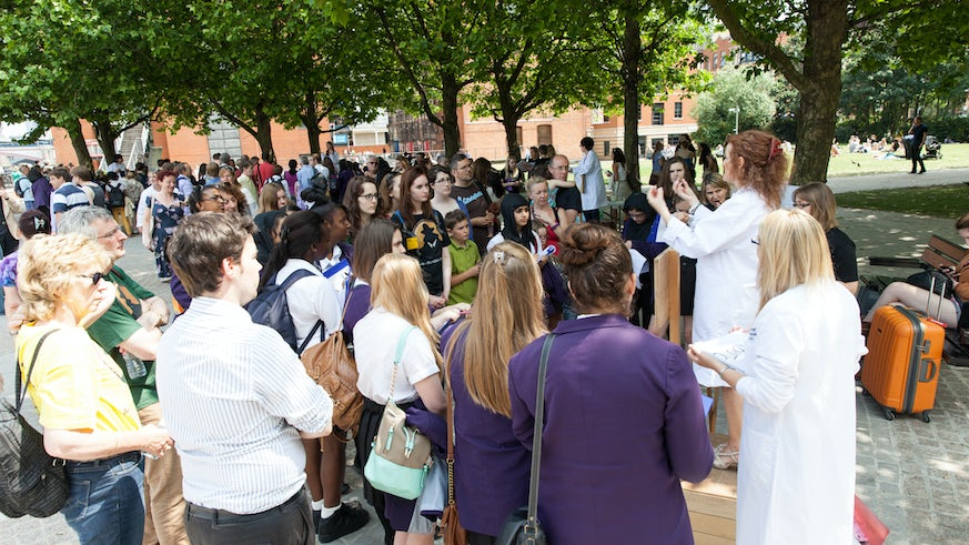 Soapbox Science in Cardiff
