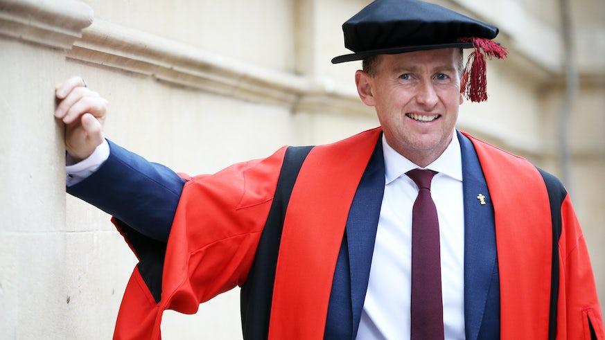 Nigel Owens - Honorary Fellow