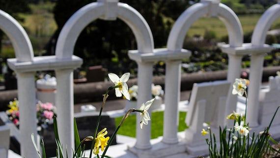 The Aberfan memorial garden
