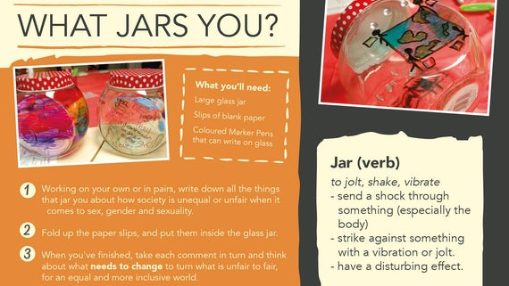 AGENDA Postcard - What jars you?
