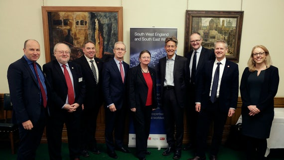 GW4 delegates at Westminster