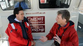 Steve Ormerod and Ed Milliband