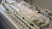 Model of the University campus