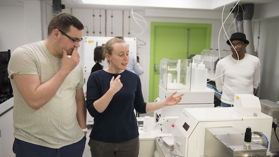 Researchers in the CELTIC lab