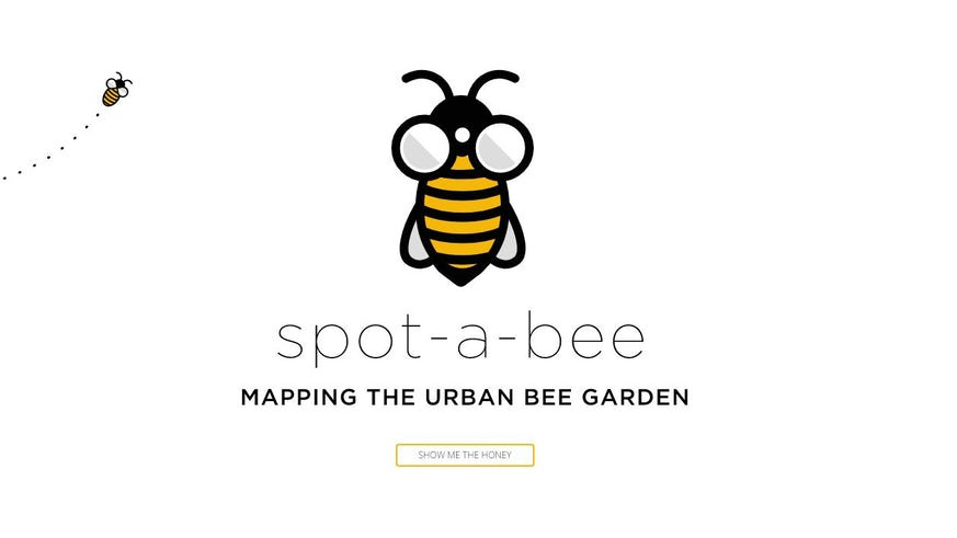 Spot-a-bee logo