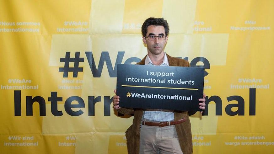 #WeAreInternational