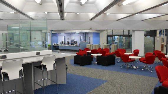 AHSS Library after refurbishment