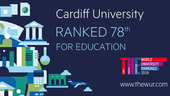 Times World University Rankings Cardiff University Education