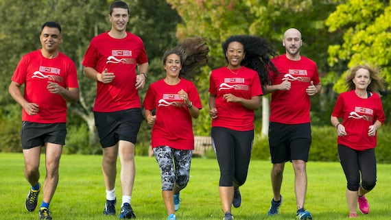 Team Cardiff runners