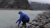 Water sampling in the high Arctic