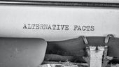 Text reading alternative facts