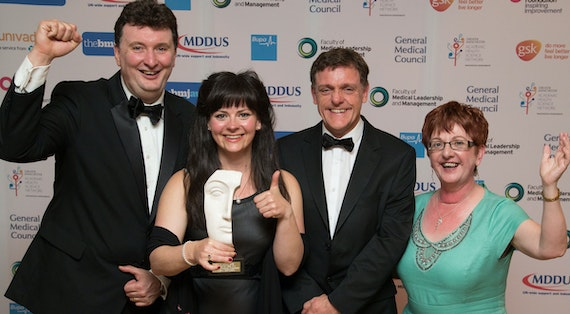 BEPC team winning a BMJ award