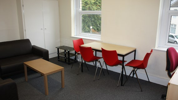 Lounge/Dining in Student Houses/Flats Village 1 Bed Flat